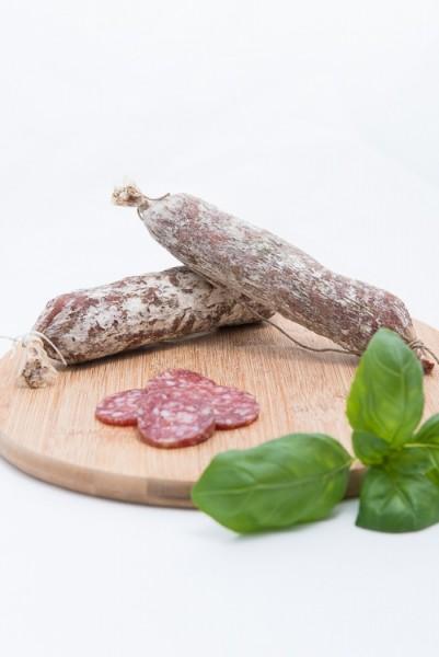 Rotwein-Salami
